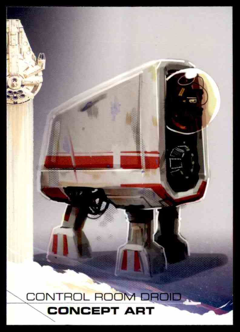 2018 Topps Solo: A Star Wars Story Control Room Droid Concept Art #94 card front image