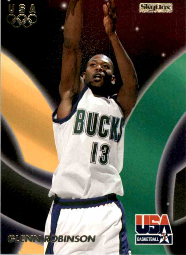1996-97 SkyBox USA Glenn Robinson #19 card front image