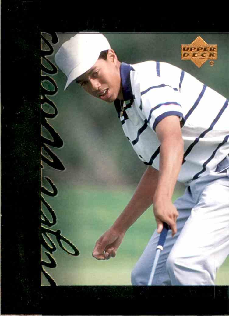 2001 Upper Deck Tiger's Tales Tiger Woods #TT2 card front image