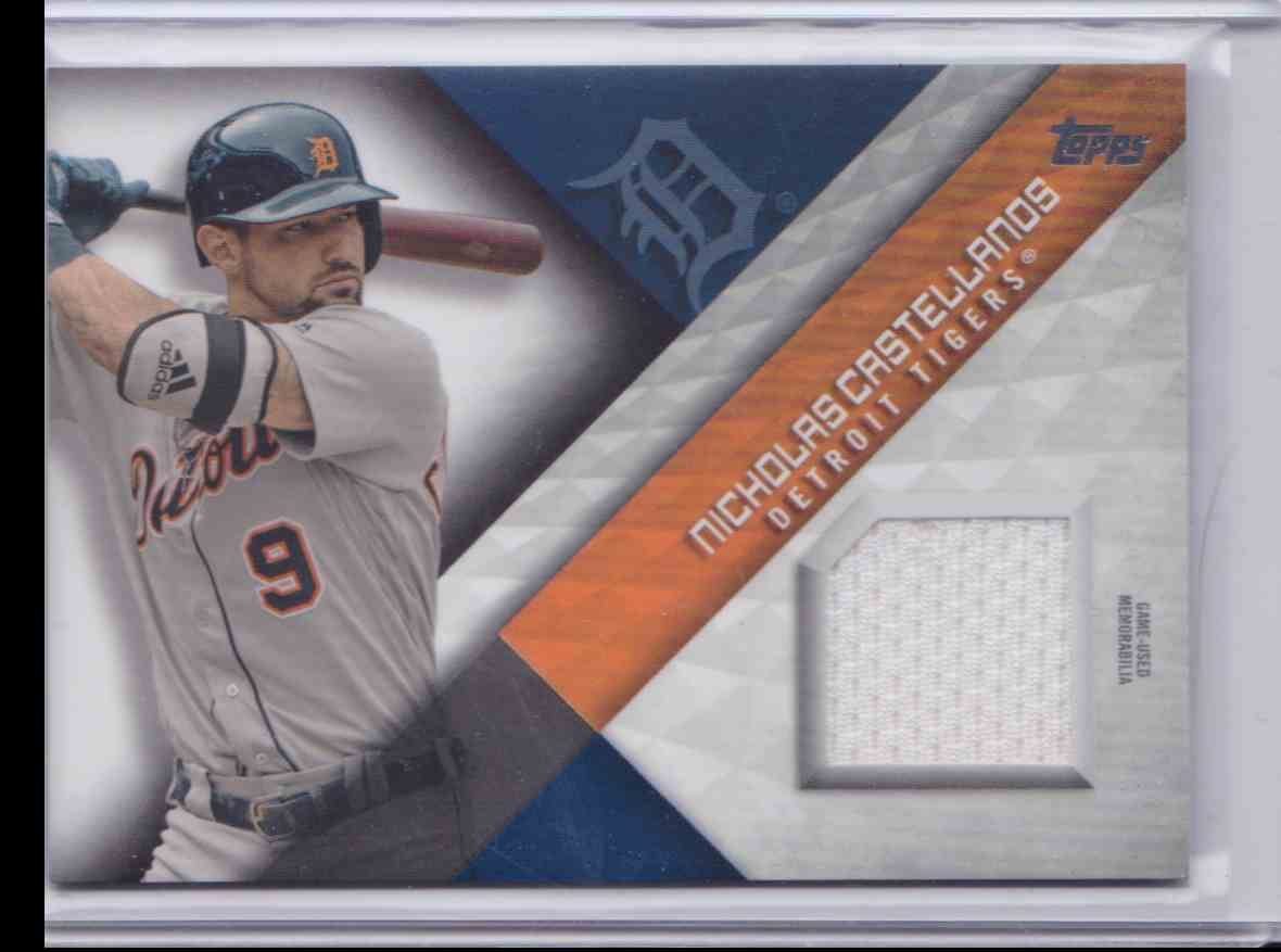 2018 Topps Series 2 Major League Material Nicholas Castellanos #MLM-NC card front image