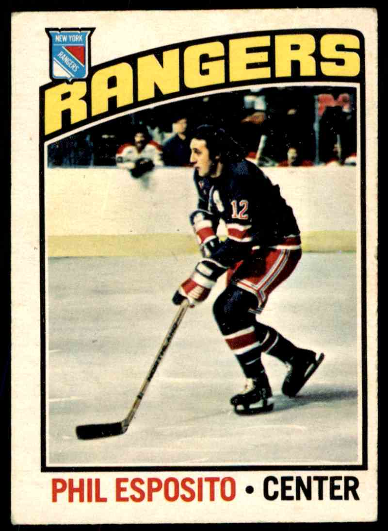 1976-77 O-Pee-Chee * Phil Esposito #245 card front image