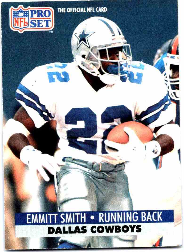 1991 Pro Set Emmitt Smith 485 On Kronozio