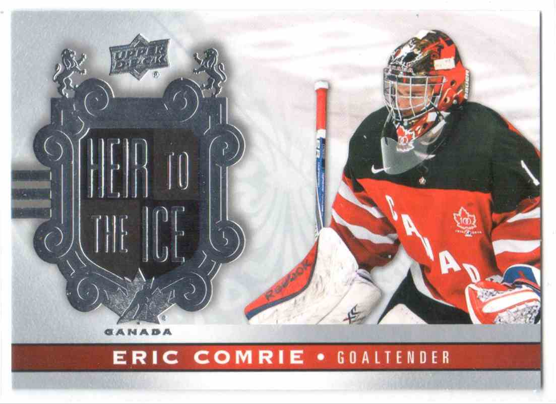 2017-18 Upper Deck Team Canada Canadian Tire Eric Comrie #152 card front image
