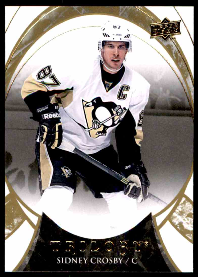2015-16 Upper Deck Trilogy Sidney Crosby #67 card front image