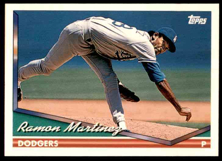 1994 Topps Ramon Martinez #545 card front image