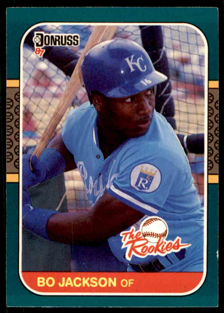 1987 Donruss Rookies Bo Jackson 14 On Kronozio