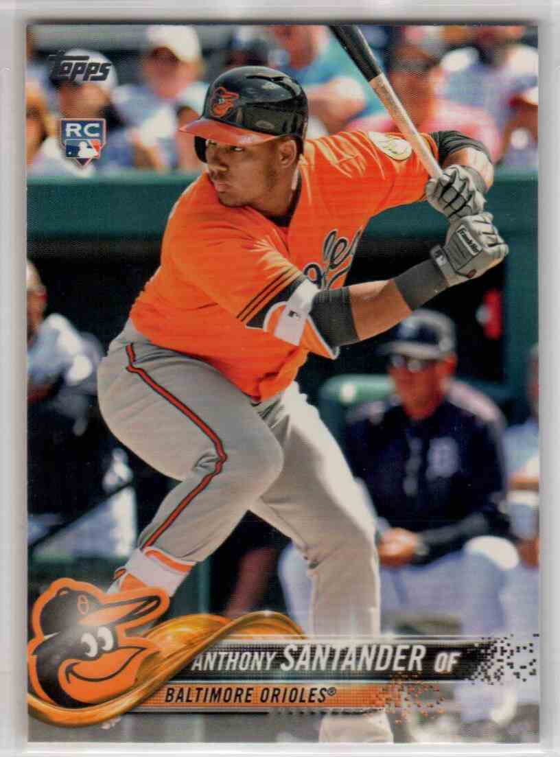 2018 Topps Series 2 Anthony Santander #433 card front image