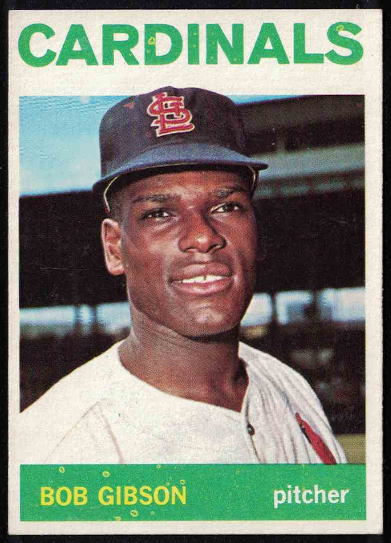 1964 Topps Bob Gibson NM #460 card front image