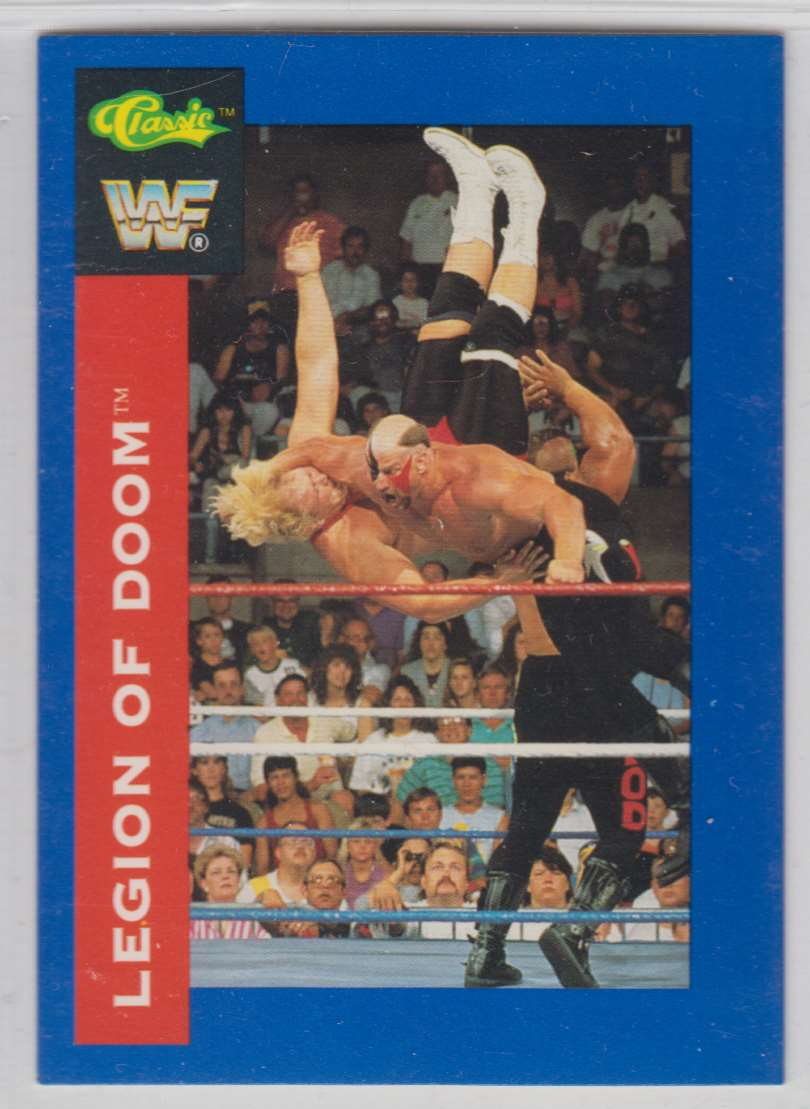 1991 Classic WWF Superstars Legion Of Dooms #104 card front image