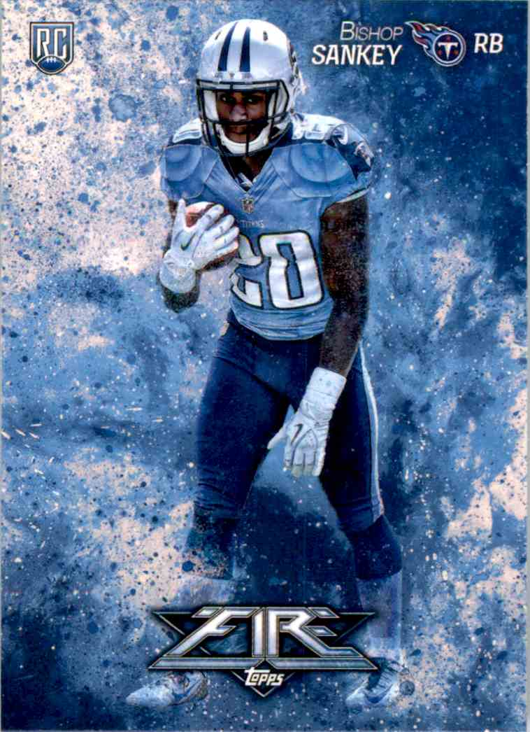2014 Topps Fire Bishop Sankey RC #142 card front image