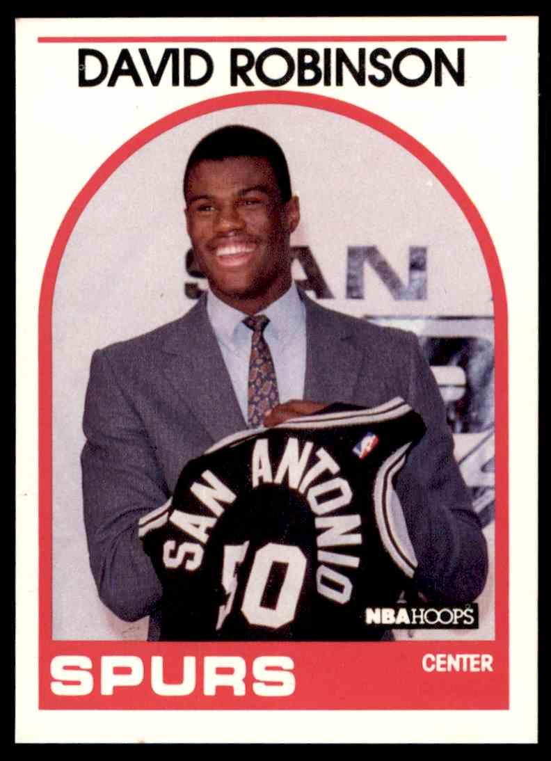 1989 90 Nba Hoops David Robinson 138 On Kronozio
