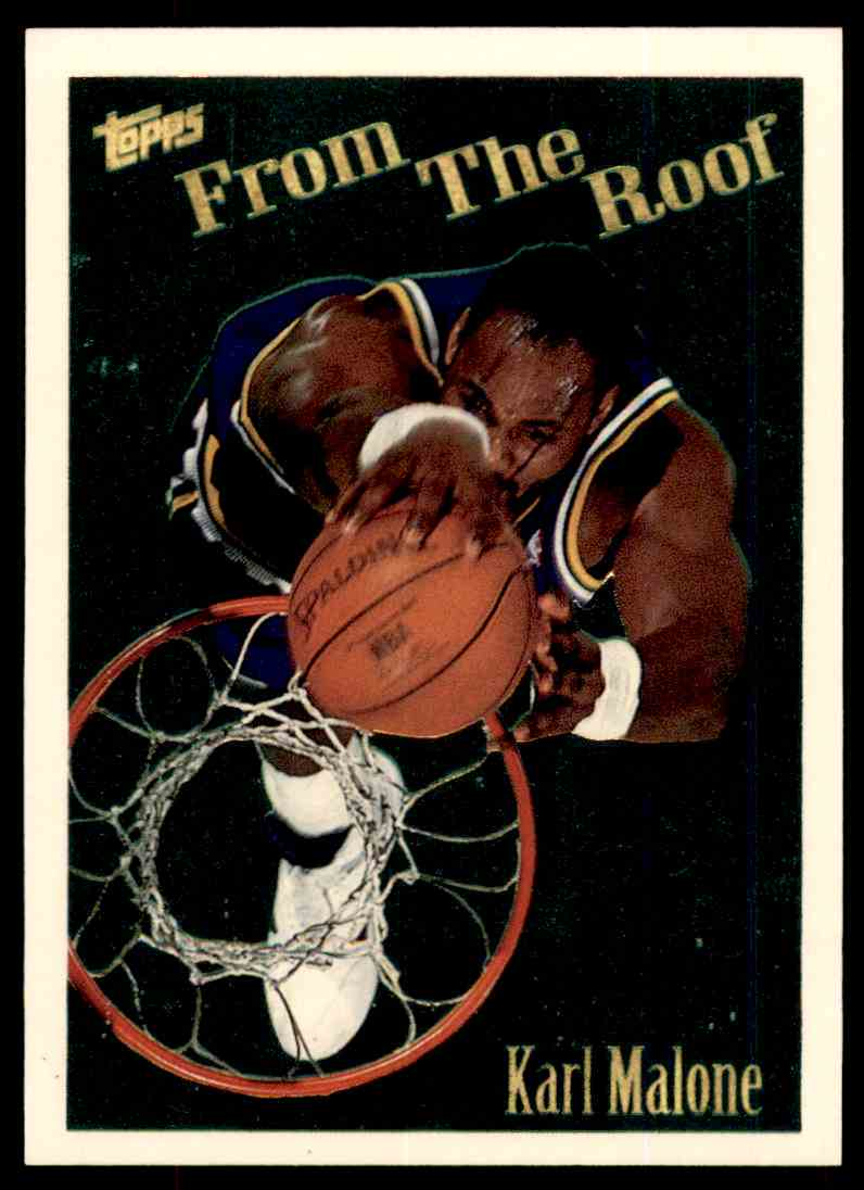 1994-95 Topps From The Roof Karl Malone #280 card front image