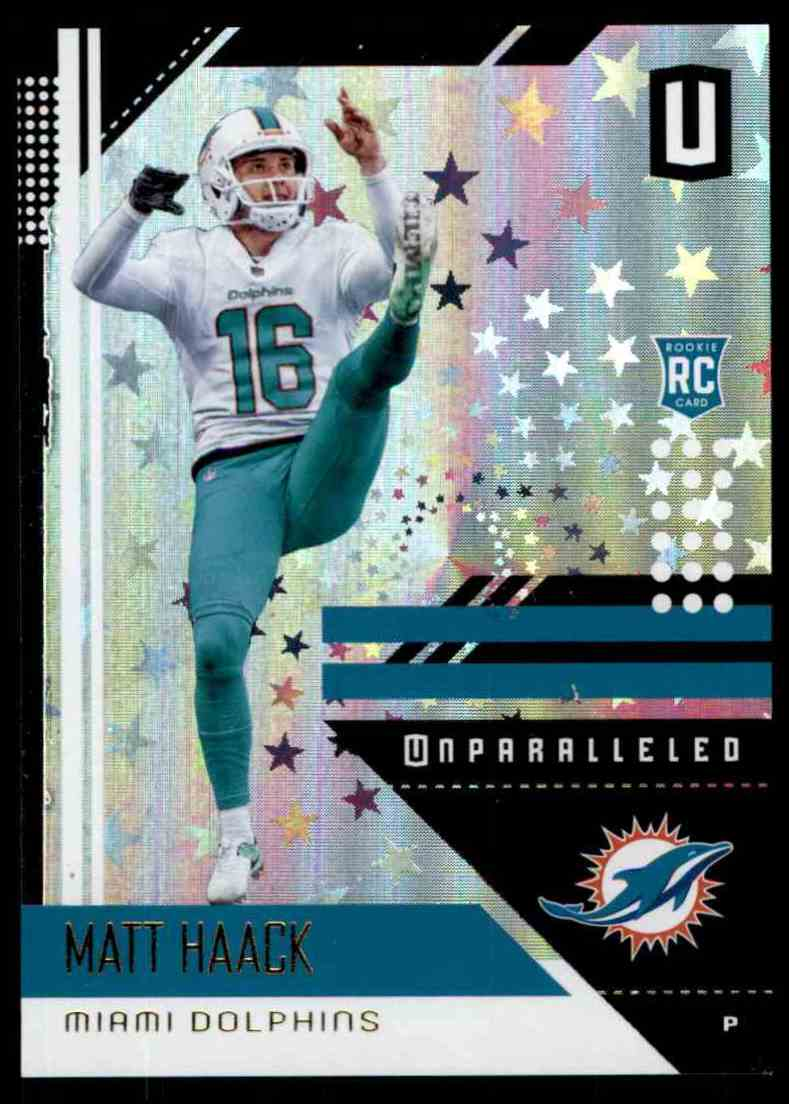 2018 Panini Unparalleled Astral Matt Haack #119 card front image