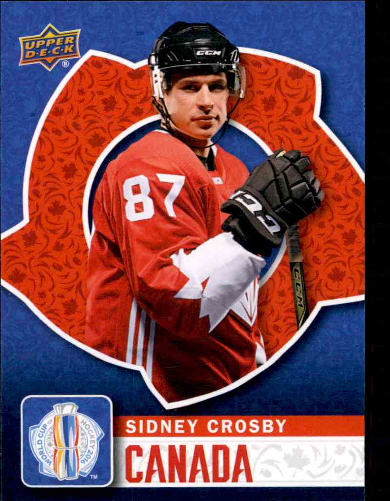 2016 17 Upper Deck World Cup Of Hockey Sidney Crosby Wch 5
