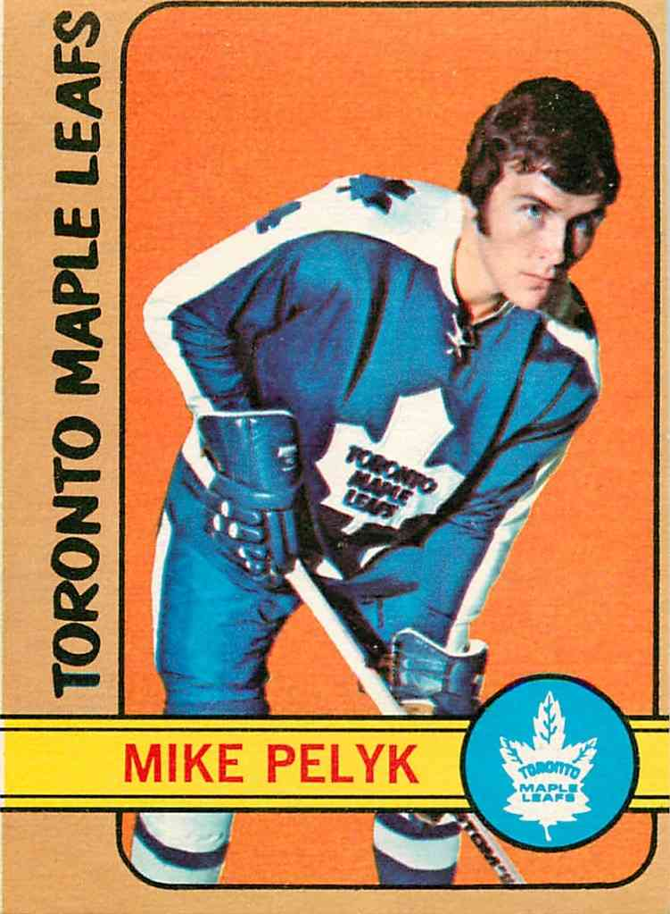 1972-73 O-Pee-Chee Mike Pelyk #17 card front image