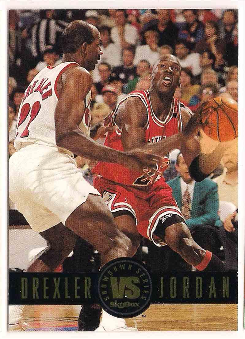 1993-94 Skybox Showdown Series Michael Jordan #S11 card front image