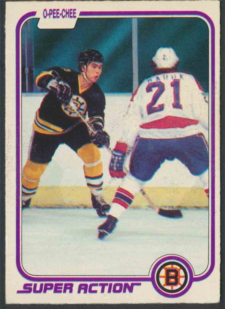1981-82 O-Pee-Chee Ray Bourque #17 card front image