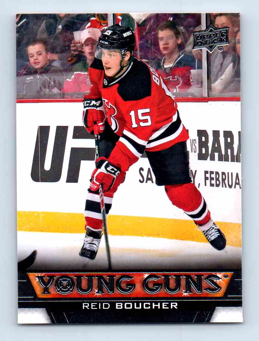 2013-14 Upper Deck Young Guns Reid Boucher #484 card front image