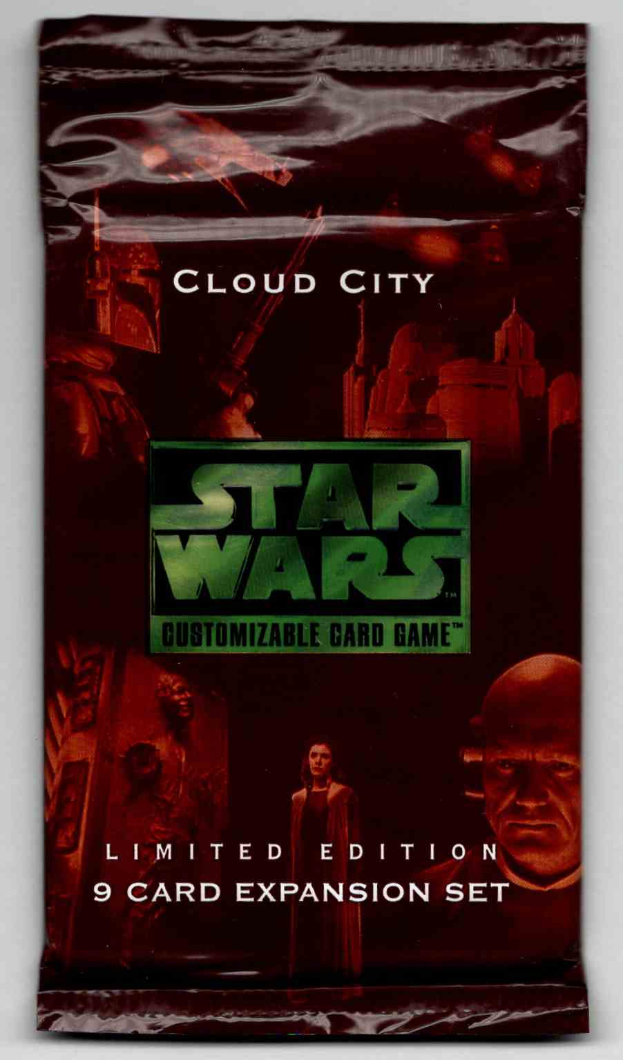 1997 Star Wars Cloud City Unopened Pack #9 card front image