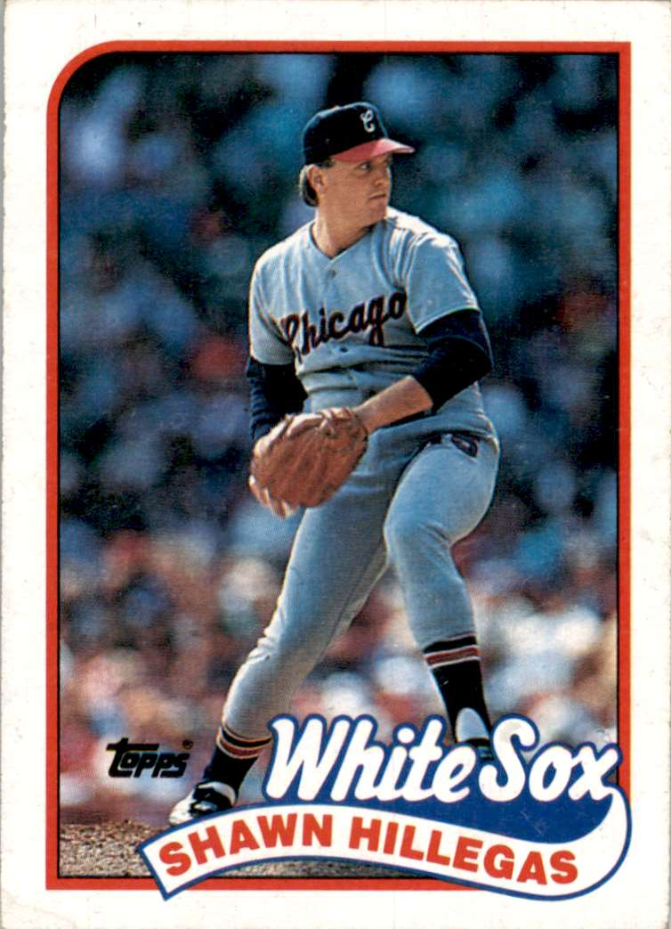 1989 Topps Shawn Hillegas #247 card front image