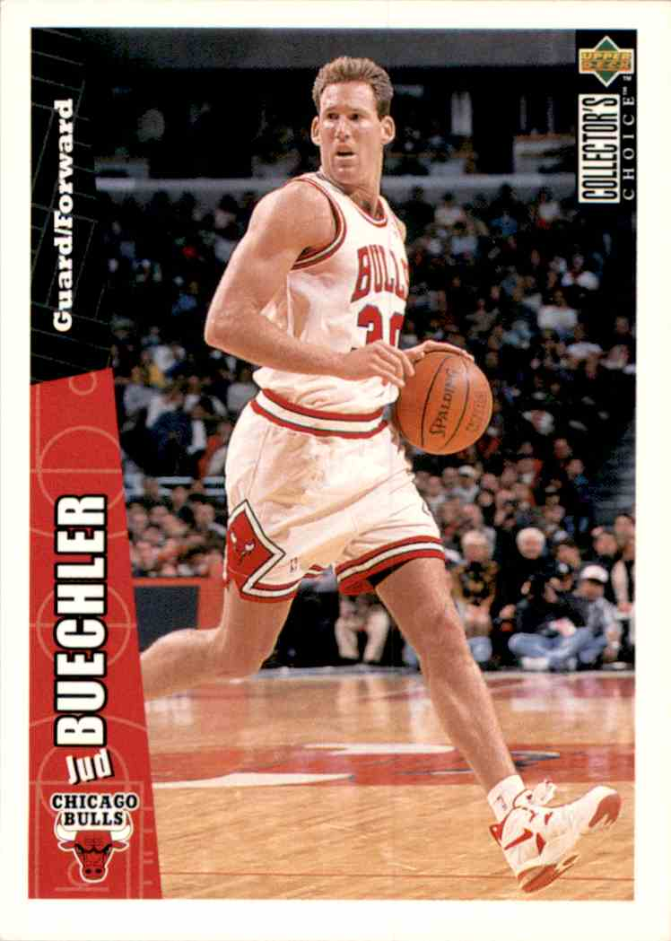 1996-97 Collector's Choice Jud Buechler #219 card front image
