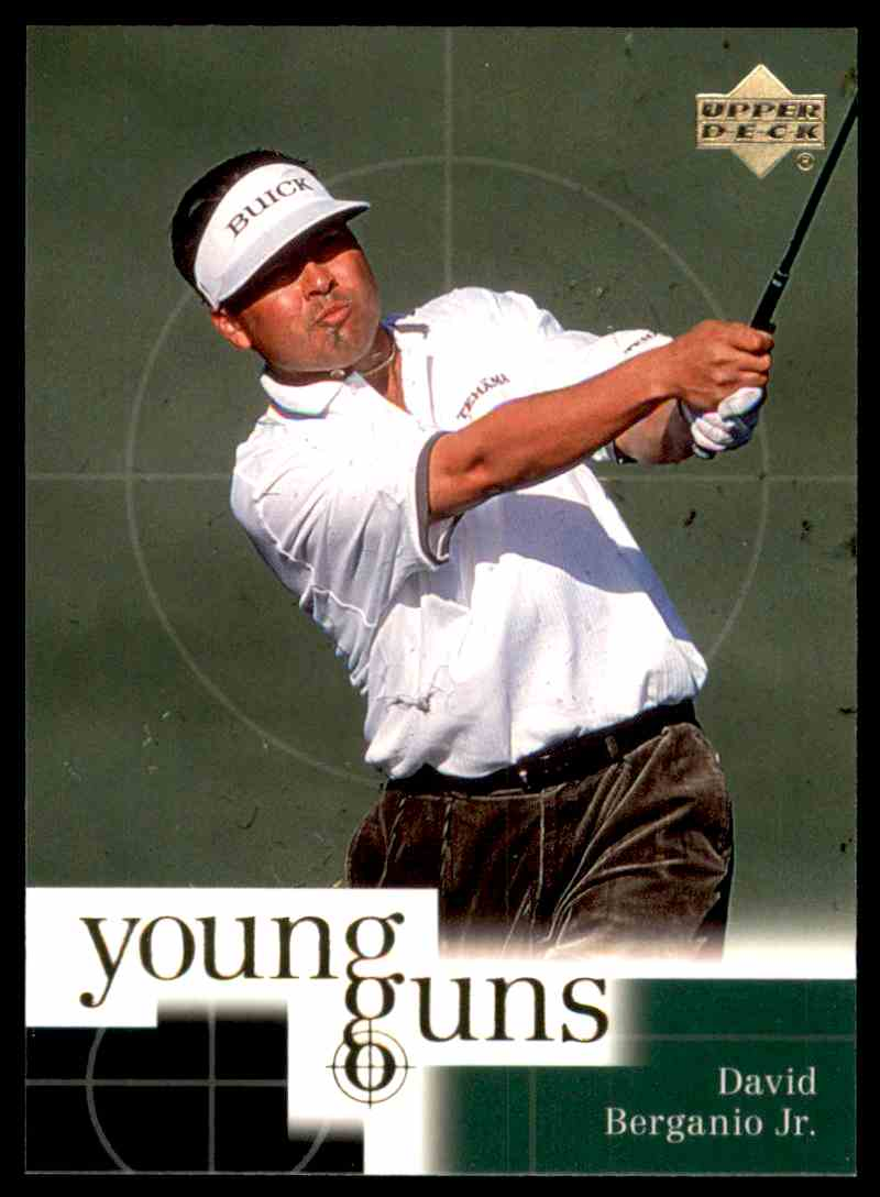 2001 Upper Deck David Berganio Yg RC #77 card front image