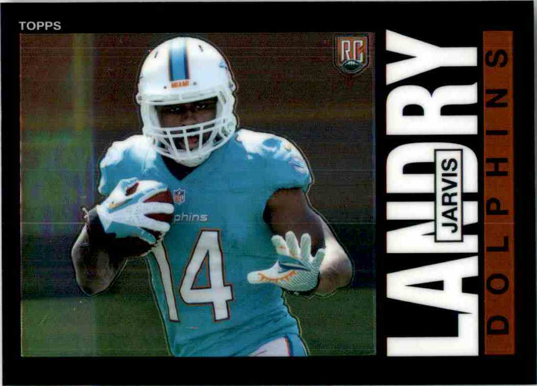 2014 Topps Chrome 1985 Jarvis Landry #4 card front image