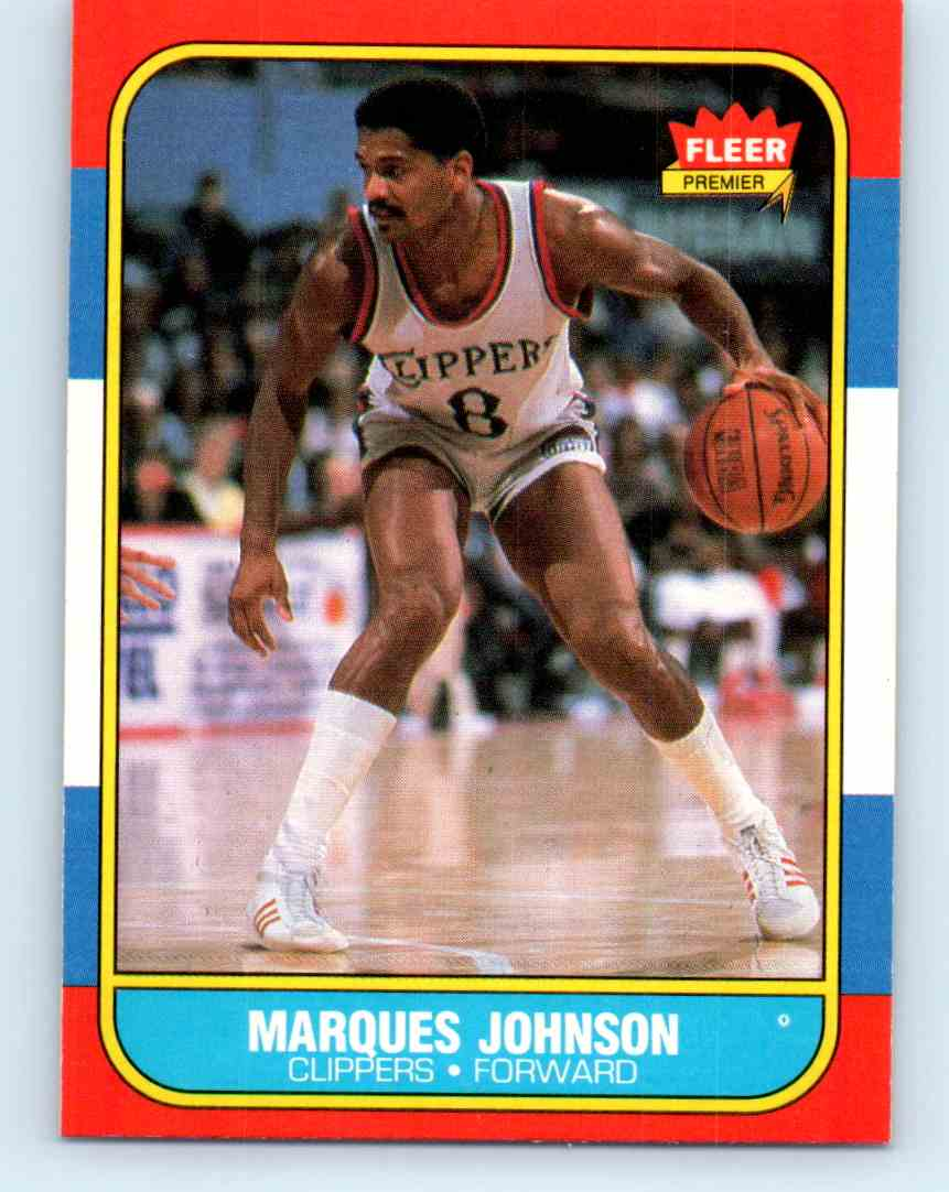 8 Marques Johnson trading cards for sale