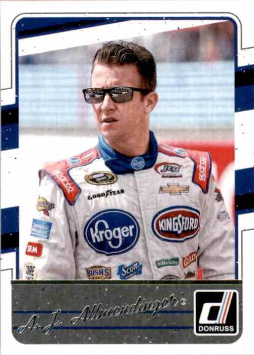 2017 Donruss A.J. Allmendinger #59 card front image