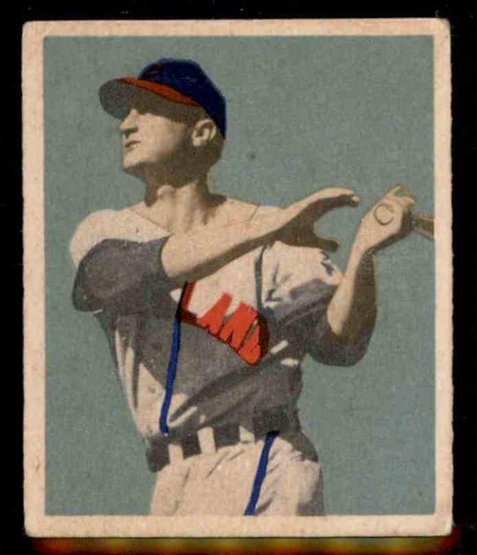 1949 Bowman Joe Tipton #103 card front image
