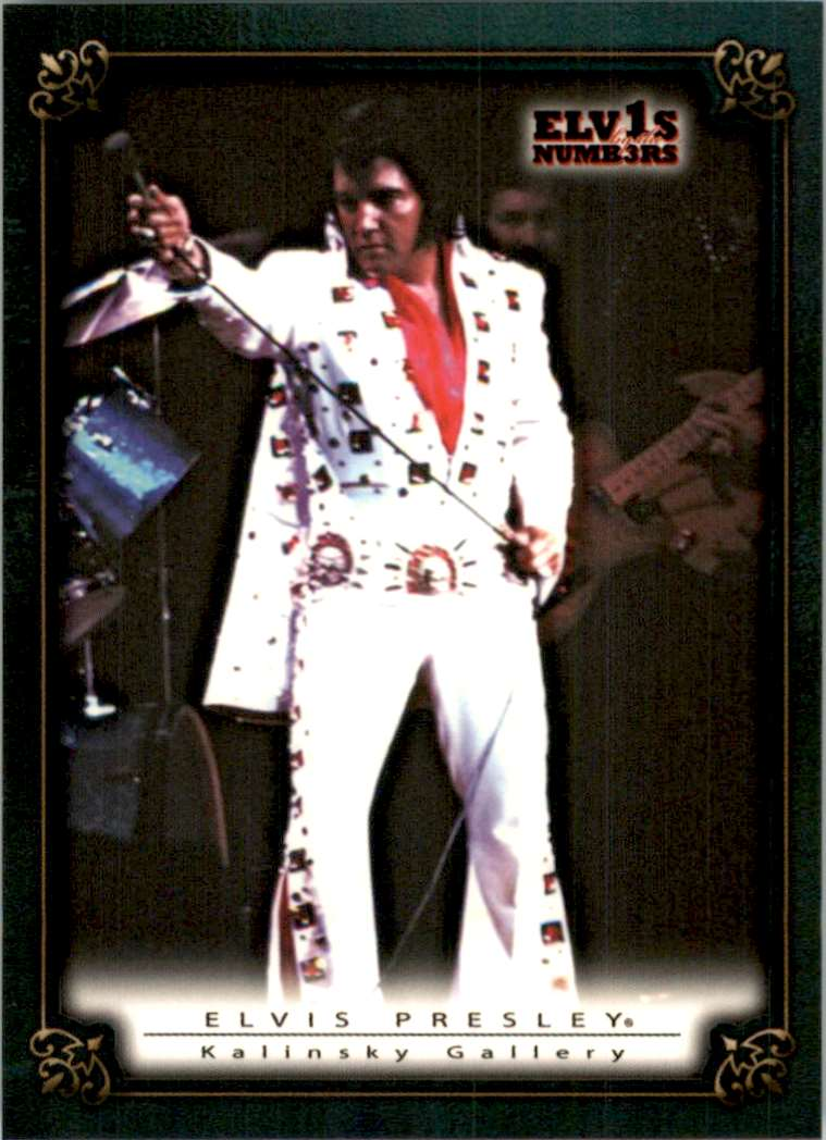 2008 Elvis By The Numbers Kalinsky Gallery #47 card front image