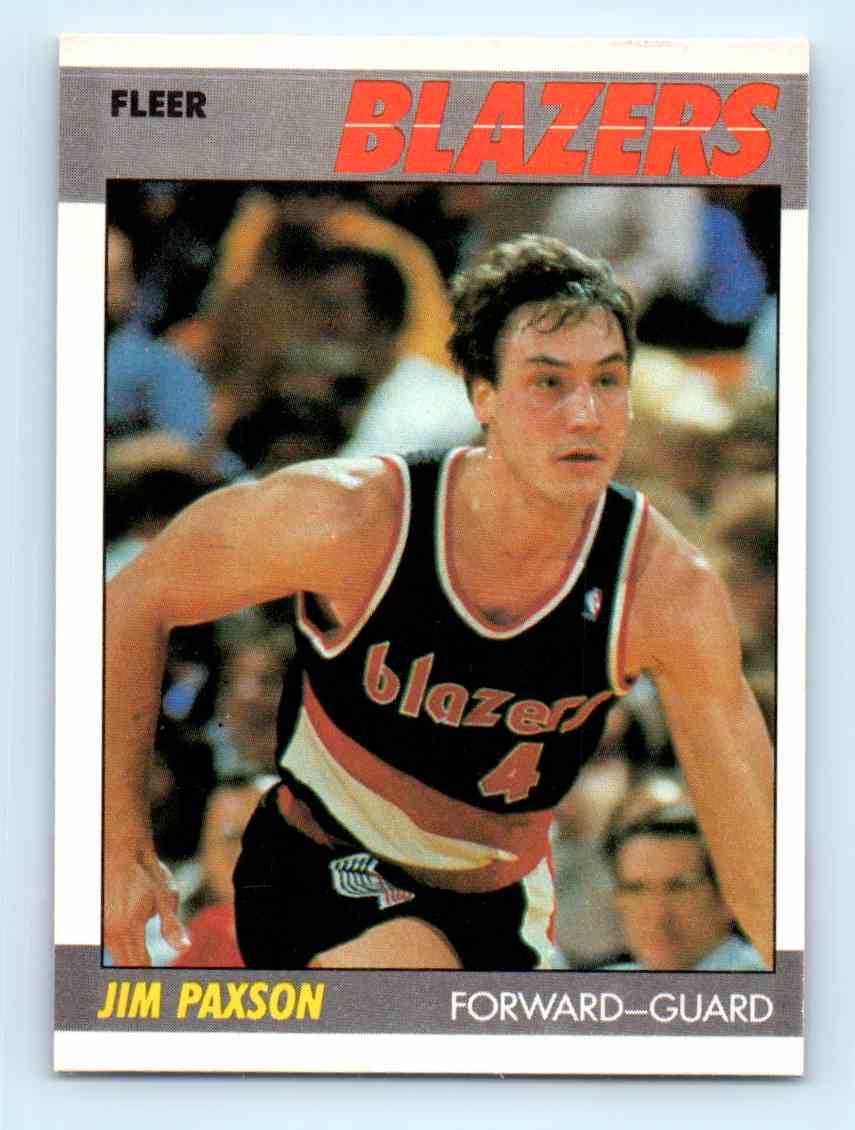 19 Jim Paxson trading cards for sale