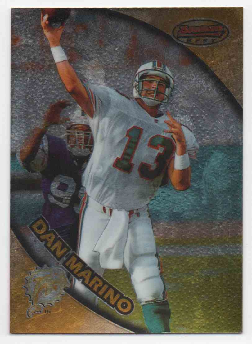 1996 Bowmans Best Dan Marino #90 card front image