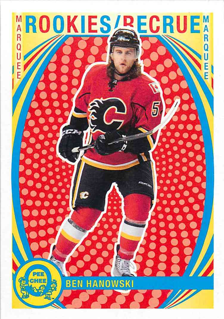 2013-14 O-Pee-Chee Marquee Rookies Ben Hanowski #596 card front image