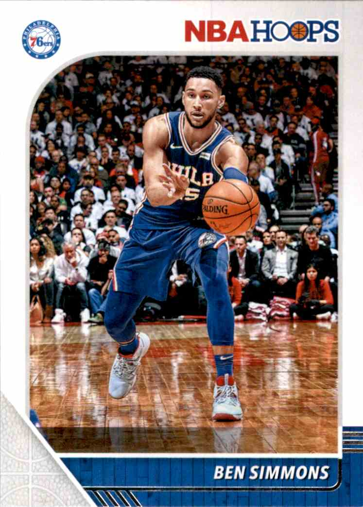 2019-20 Hoops Ben Simmons #144 card front image