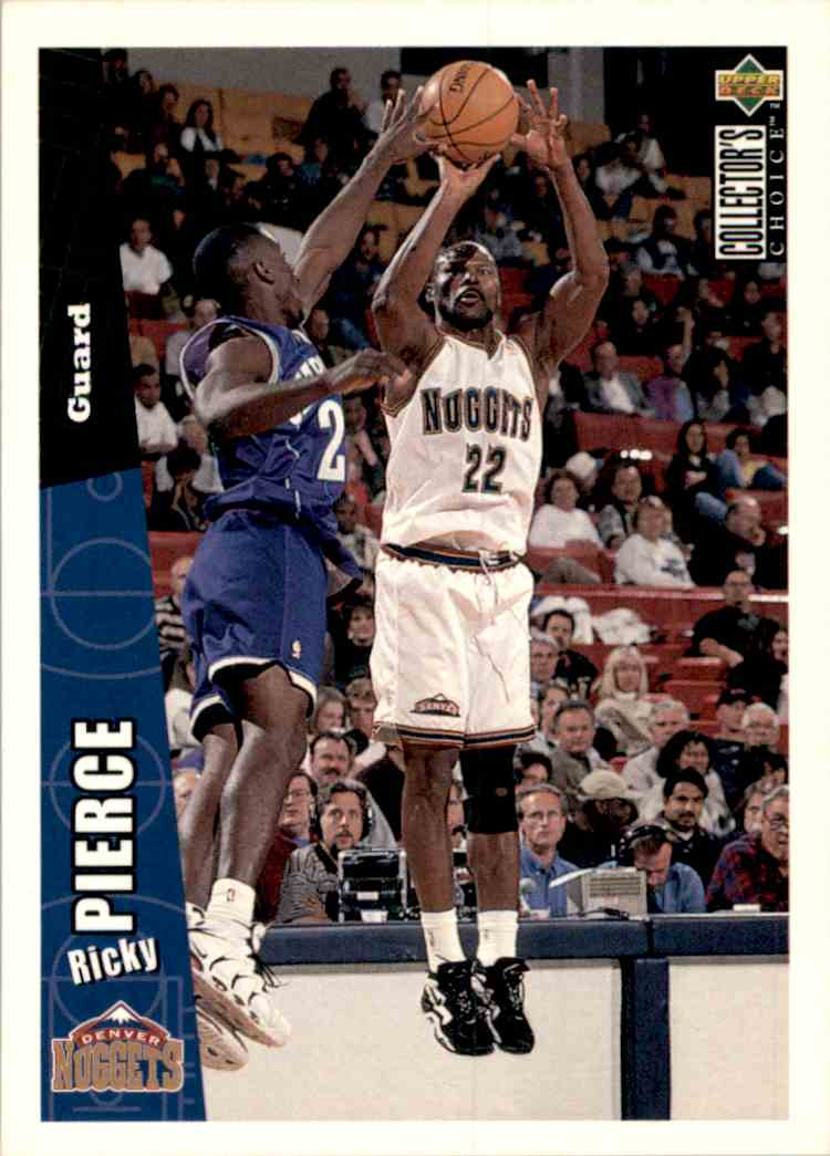 1996-97 Collector's Choice Ricky Pierce #237 card front image