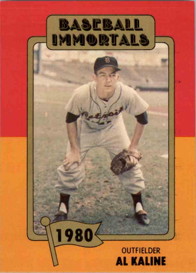 1980 Baseball Immortals 1st Printing Al Kaline 171 On