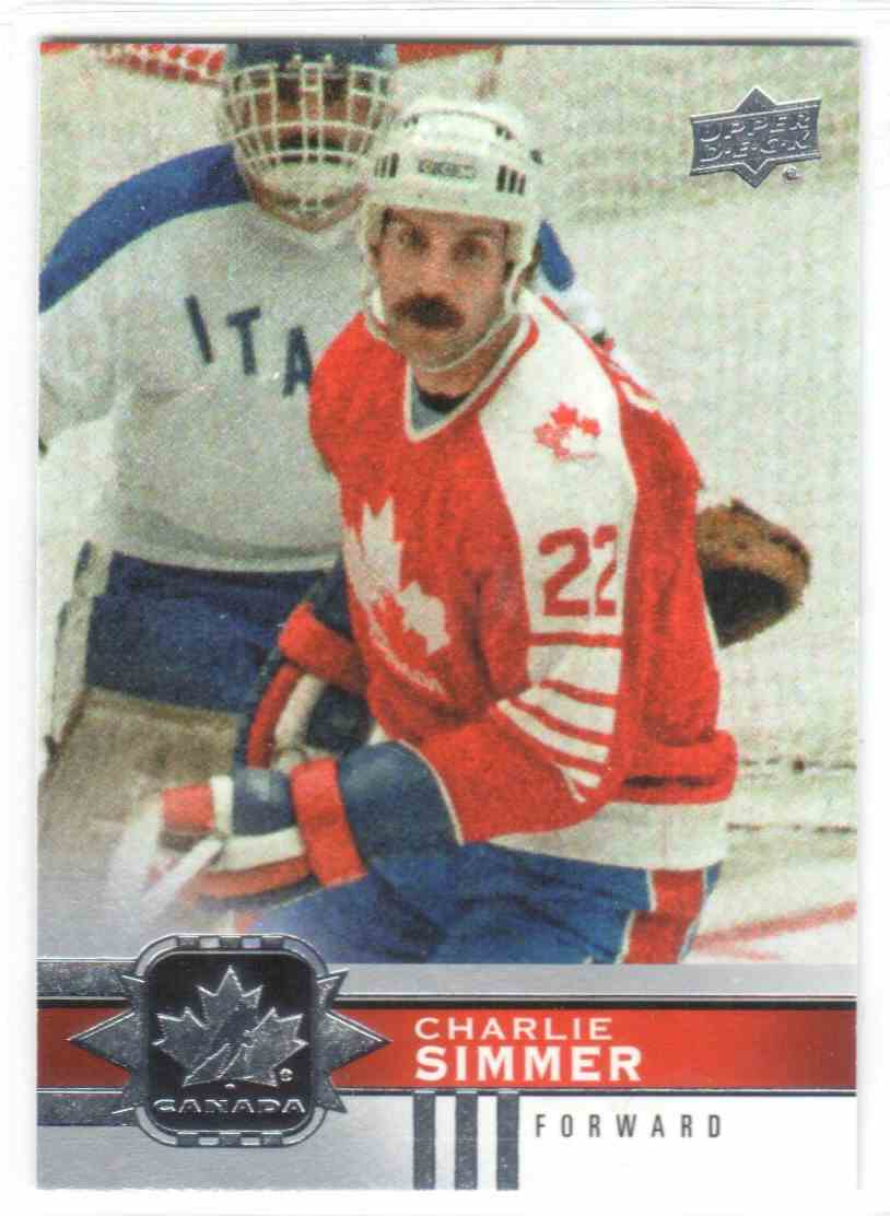 2017-18 Upper Deck Team Canada Canadian Tire Charlie Simmer #81 card front image
