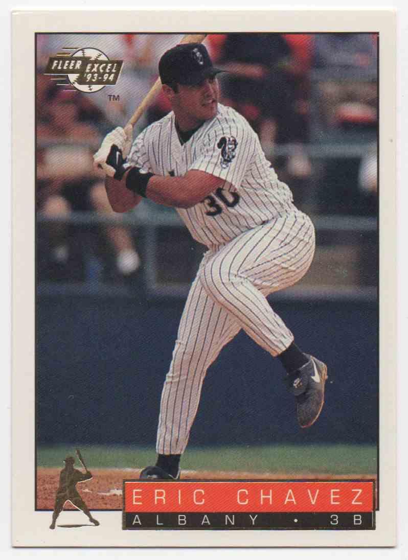 1993 Fleer Excel Eric Chavez #3 card front image