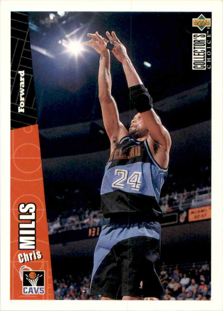 1996-97 Collector's Choice Chris Mills #225 card front image