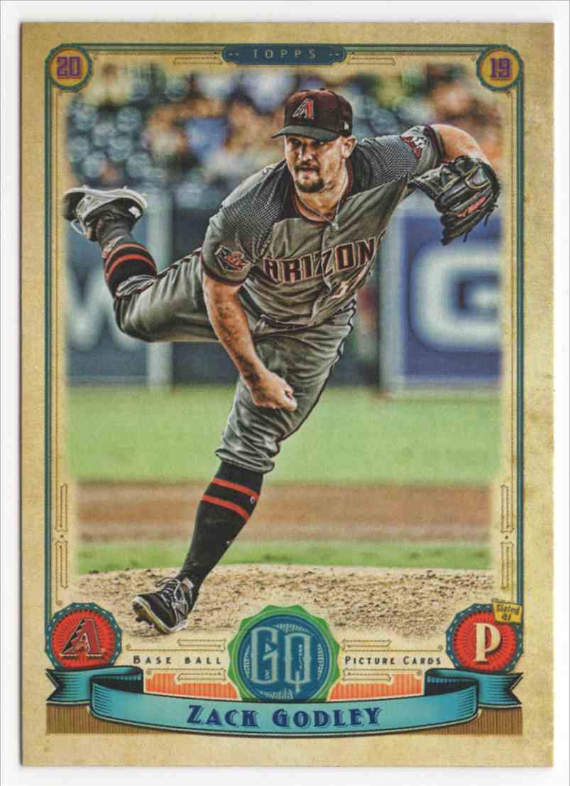 2019 Topps Gypsy Queen Zack Godley #177 card front image