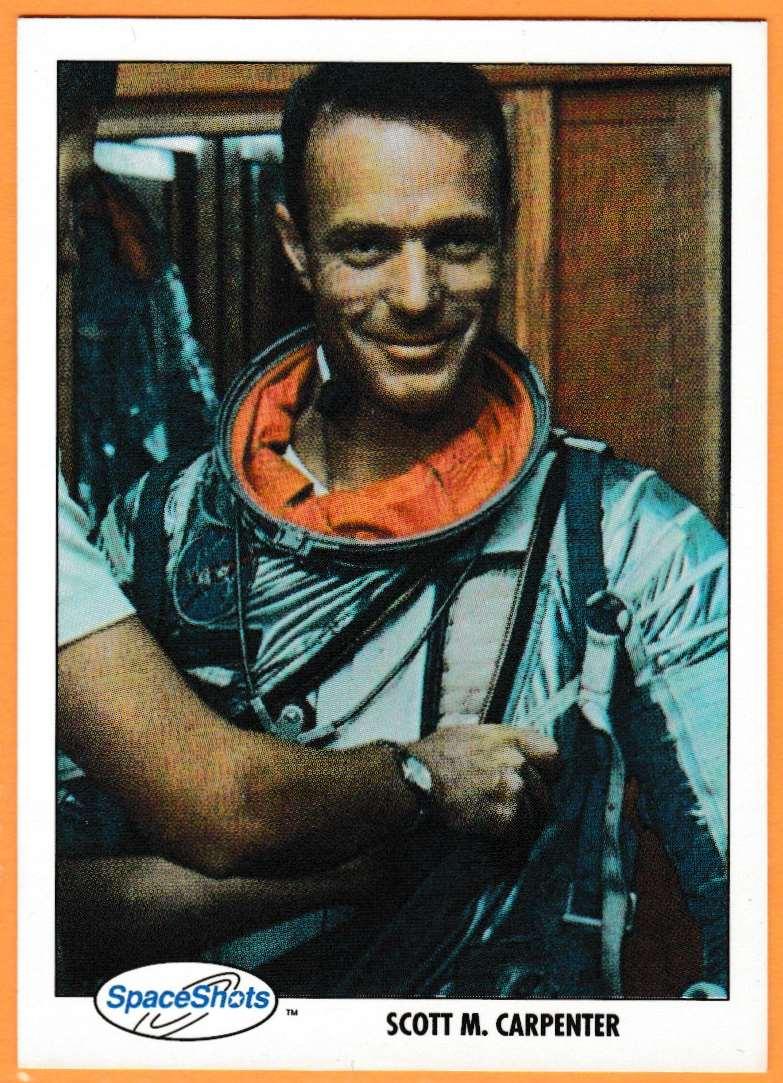 1991 Space Shots Space Trivia Challenge Scott M.Carpenter #115 card front image