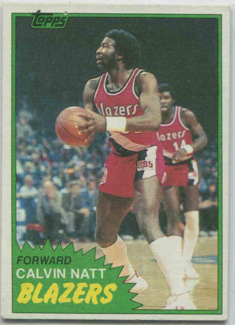 1 Calvin Natt trading cards for sale