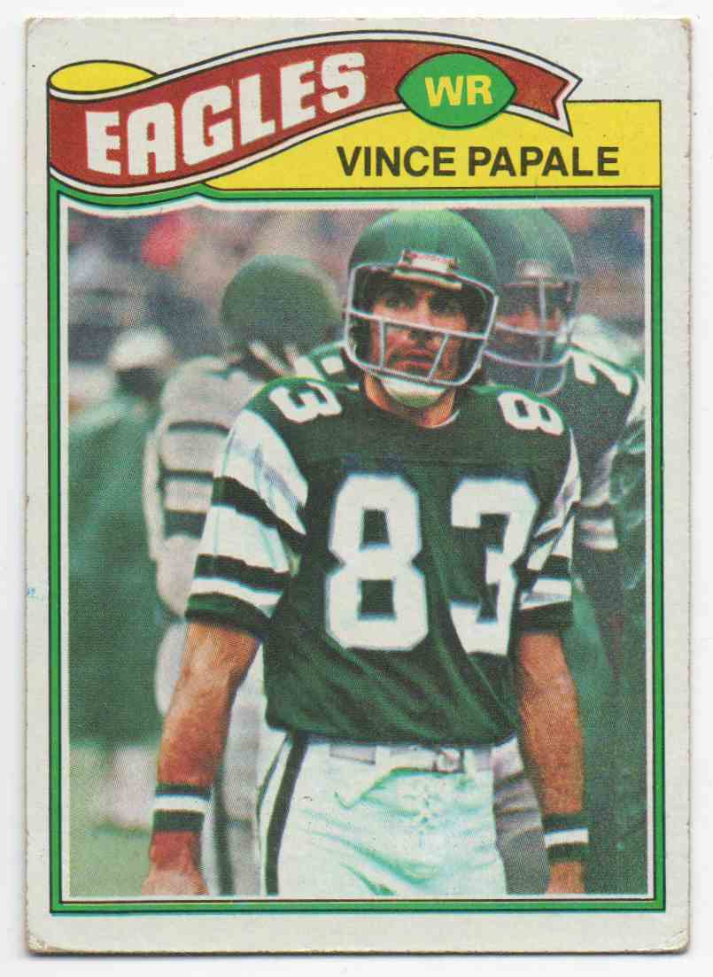 1977 Topps Vince Papale #397 card front image