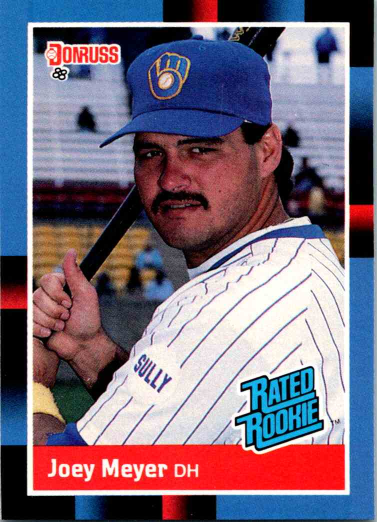 1988 Donruss Joey Meyer #36 card front image
