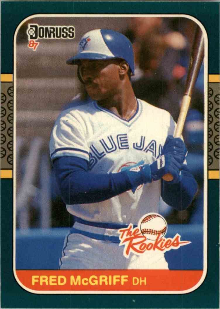 1987 Donruss Fred Mcgriff 31 On Kronozio