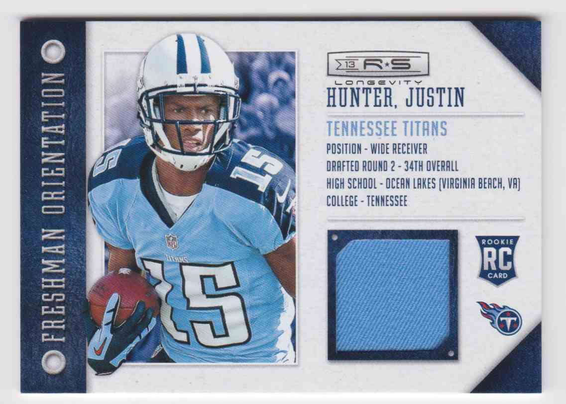 2013 Rookies & Stars Freshman Orientation Justin Hunter #15 on