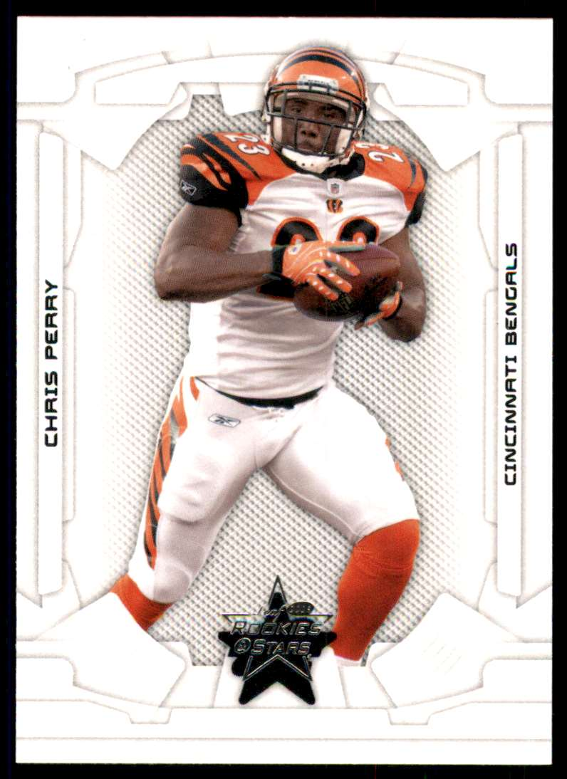 2008 Leaf Rookies And Stars Chris Perry #22 card front image