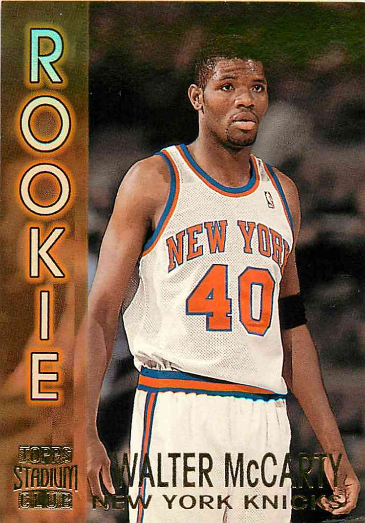 1995-96 Topps Stadium Club Walter Mccarty #14 card front image