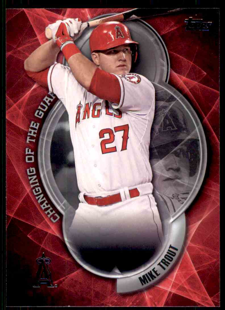 2016 Topps Changing Of The Guard Mike Trout #CTG-1 on